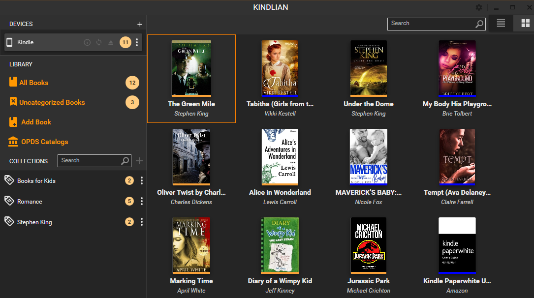 Kindlian screenshot